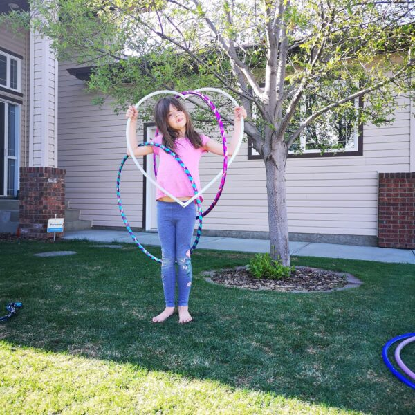 Kids Hula Hoop Class Birthday Party
