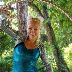 Laura Loops Hula Hoops